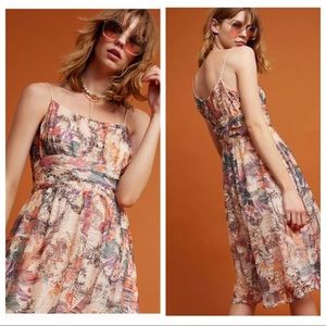 🎉HP🎉 NWT Anthropologie Maeve Floral Dress